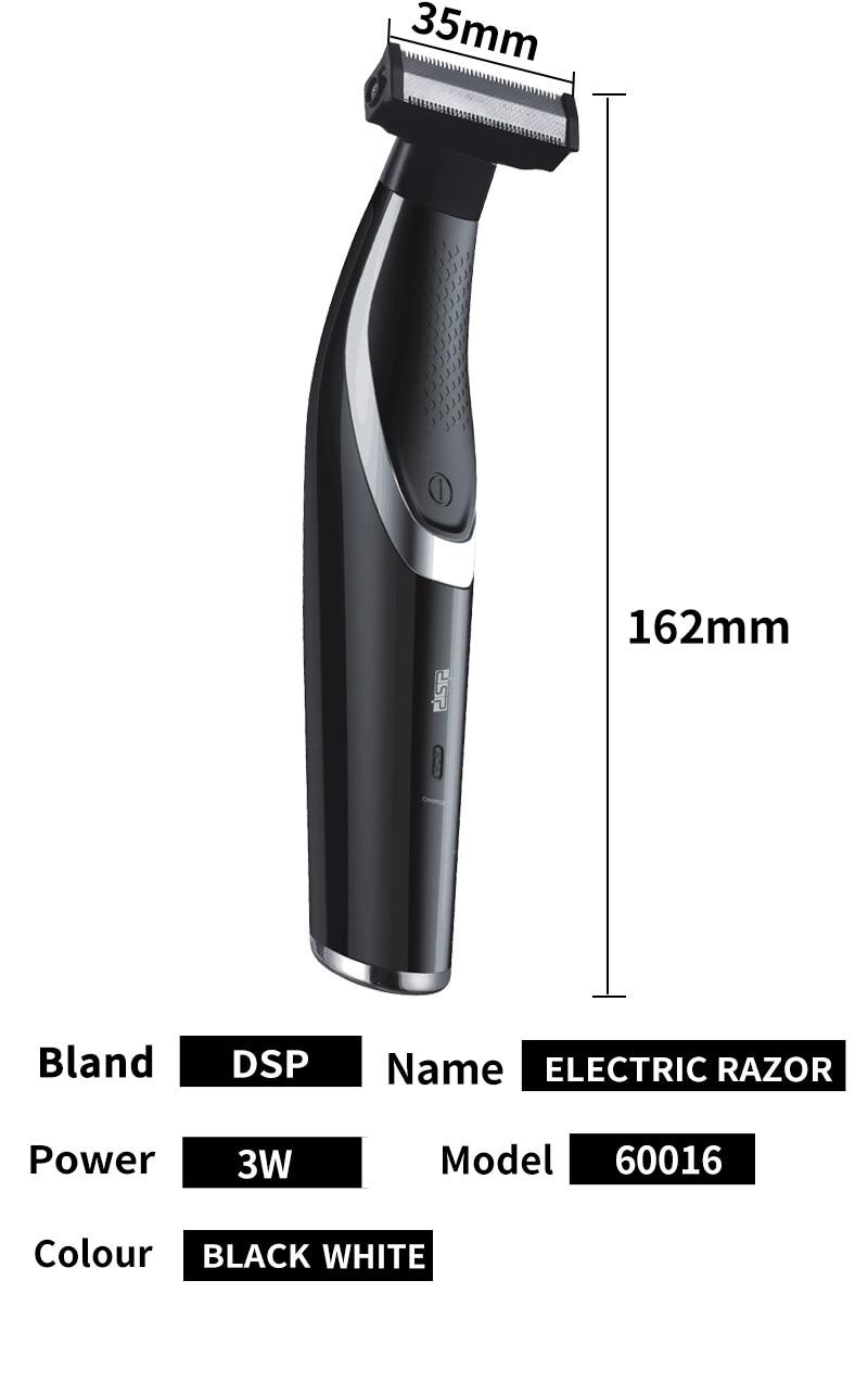máquina de barbear de cabelo para homens