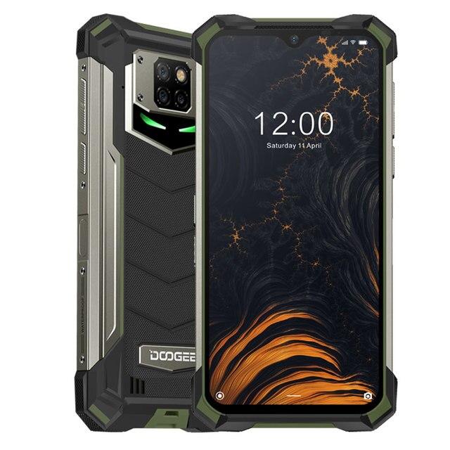 DOOGEE S88 Plus Rugged SmartPhone 48MP Main Camera 8GB RAM 128GB ROM IP68/IP69K smart phone Android 10 OS Global version 7