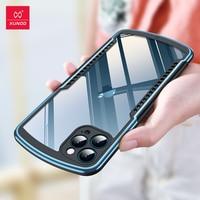 Per iPhone 12 Pro Max Case, Xundd Airbag Case, per iPhone 11 12 Pro Max Mini Case, Matte antiurto Bumper Phone Cover Fashion