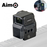 Aim O Tactical Riflescope FC1 Red Dot Sight 2 MOA Reflex Sight 1x Holographic Sights Softair Telescope Airsoft Hunting Optics