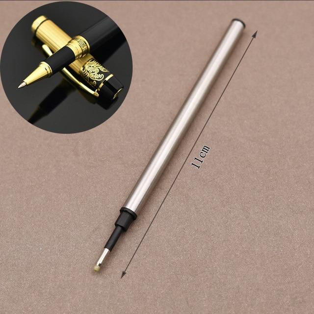5 pcs/lot Metal Refills 0.5mm for Roller Ballpoint Pen Business Pen Ball Pen Refills 11cm Length Office School Supply Stationery 5