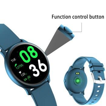 ליגע גברים חכם שעון זכר קצב לב צג לחץ דם Smartwatch בקרת השמעת מוסיקה ספורט שעון Relogio Inteligente