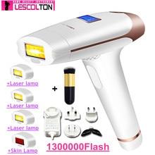 LESCOLTON 5IN1 4in1 3in1 2in1 Laser Hair Epilator LCD Display Depilador Permanen
