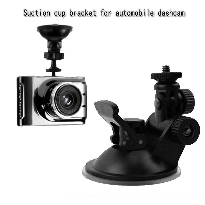 1 Pc Mini 360 Degree Car Driving Recorder Mount Bracket Screw Connector Rack Black Gps Suckerholder For Car Interior Accessories