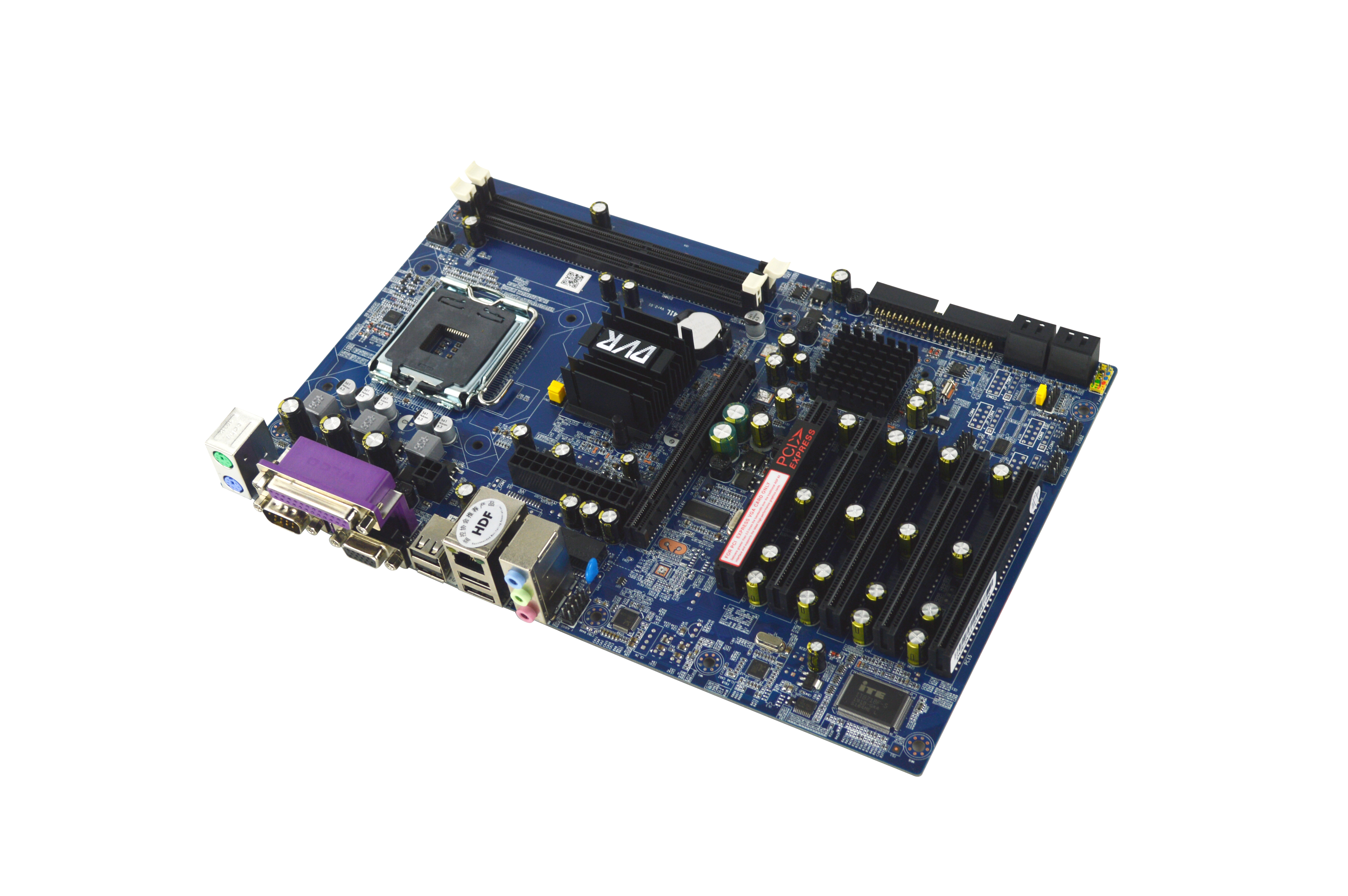 G41 DDR3 industrial Micro ATX motherboard with 5PCI image