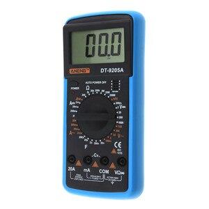 Image 4 - DT9205A Handheld Digital Multimeter LCD AC DC Automatic Range Power Multimeter Ammeter Ohmmeter Resistance Capacitance Meter