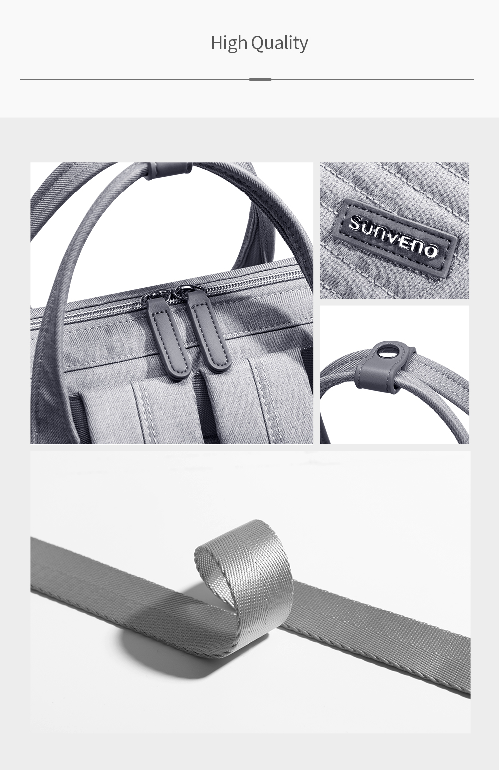 Hdcc2e09dba204565b4262a8310858d1aF Sunveno Fashion Diaper Bag Backpack Quilted Large Mum Maternity Nursing Bag Travel Backpack Stroller Baby Bag Nappy Baby Care