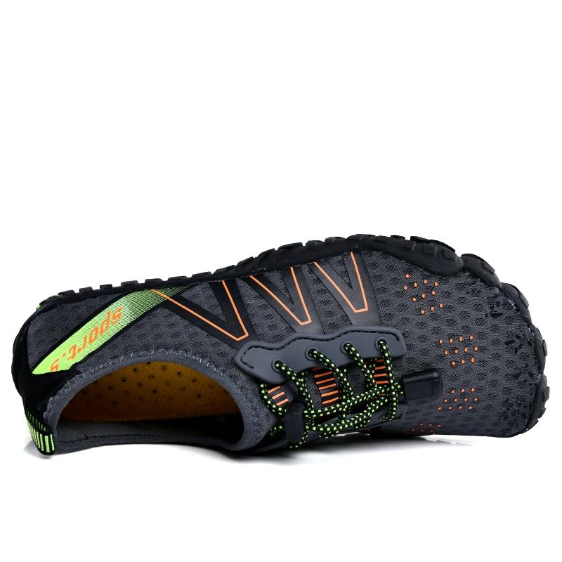Мужские кроссовки для воды, быстросохнущие сандалии для пляжа, для плавания, воды и дайвинга, большой размер 46