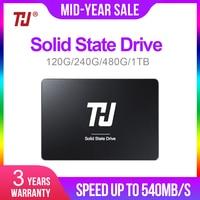 THU 120GB 240GB 480GB 1TB SSD SATA 2.5 Internal Solid Hard Disk Drive 540MB/s HD SSD DISK for PC Laptop notebook