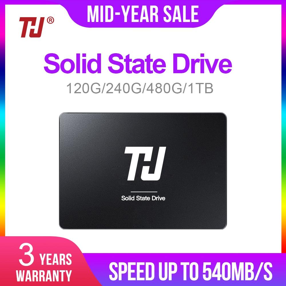"THU 120GB 240GB 480GB 1TB SSD SATA 2.5"" Internal Solid Hard Disk Drive 540MB/s HD SSD DISK for PC Laptop notebook"
