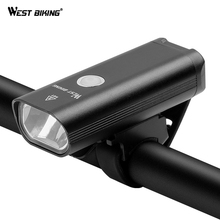 WEST BIKING Bike Lights Bicycle LED Light For MTB Mountain Waterproof USB Bicycle Cycling Front LED Light Bike Accessories bikein road bike led front light taillight usb rechargeable light cycling mountain bike handlebar mtb bicycle accessories