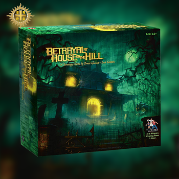 BRPG Betrayal At House On The Hill By Wizards Of The Coast Board Game Family Party Entertainment Education Strategy Widow's Walk