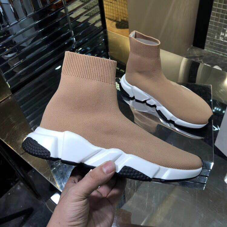 Vibsterimma New 2020 High Quality Speed Trainers Women Knit Casual Shoes Sock Boots Race Runner Shoes