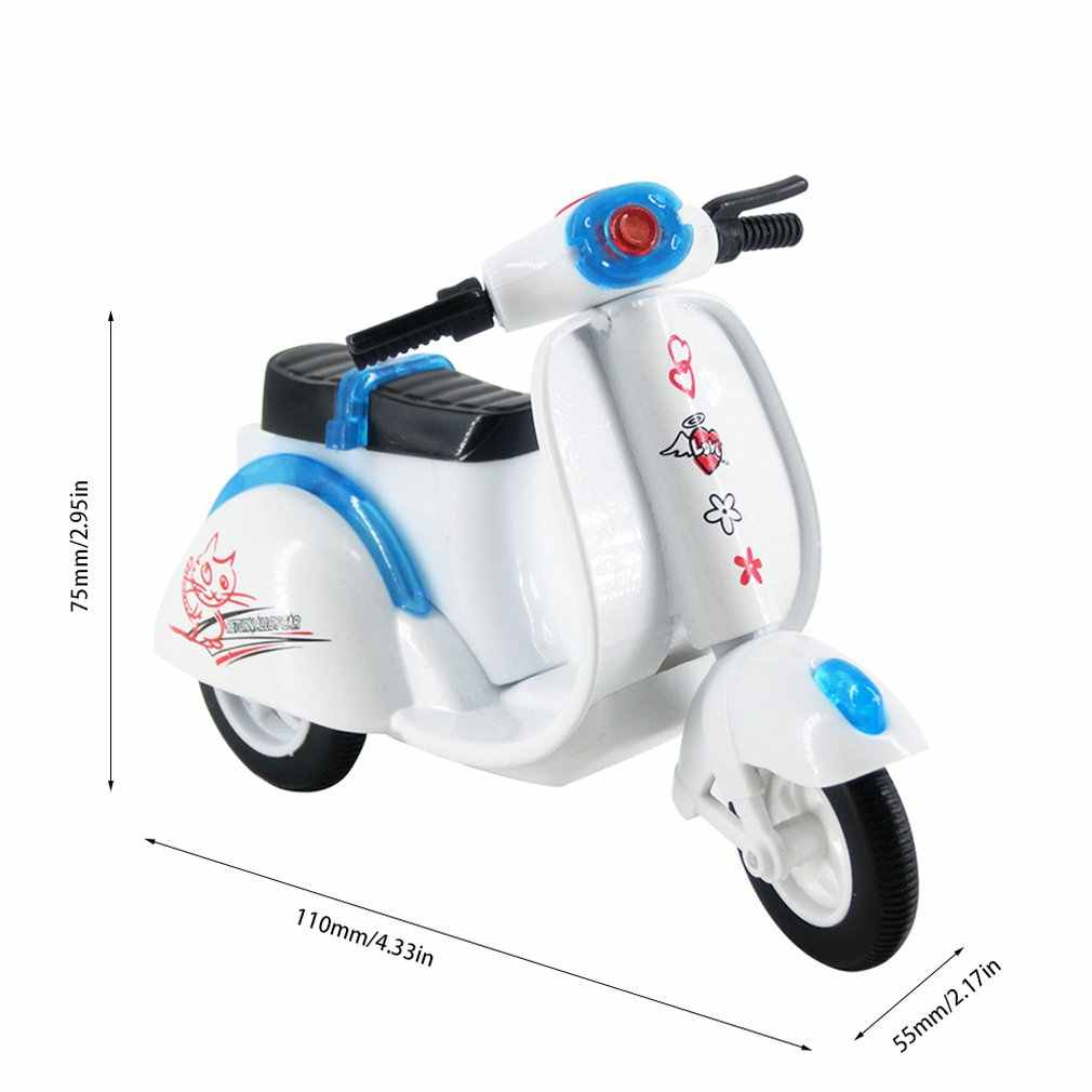 Children Toy Alloy Motorcycle Model Diecast Moto Kids Toys Collection Gifts children cute little sheep car