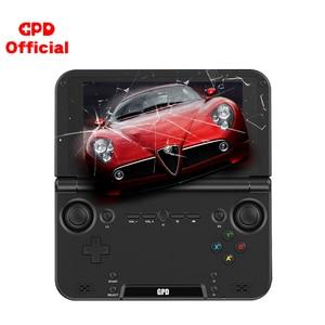 Image 1 - Gpd console de videogame retrô xd plus, console de jogos portátil, tela touch screen de Polegada para android e cpu mtk 8176 4gb/32gb