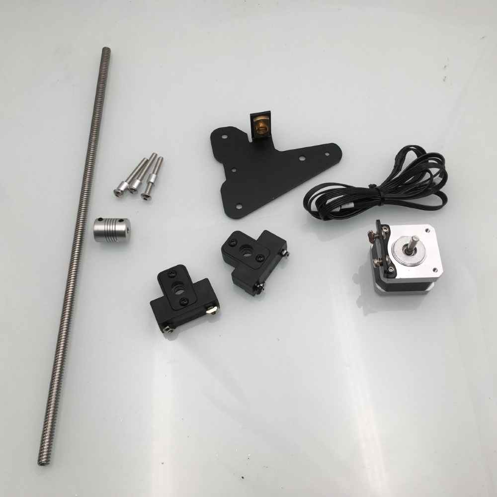 1set Creality Ender 3 CR-10 Dual Z Axis Upgrade Kit For Ender 3 Pro 3D Printer Parts