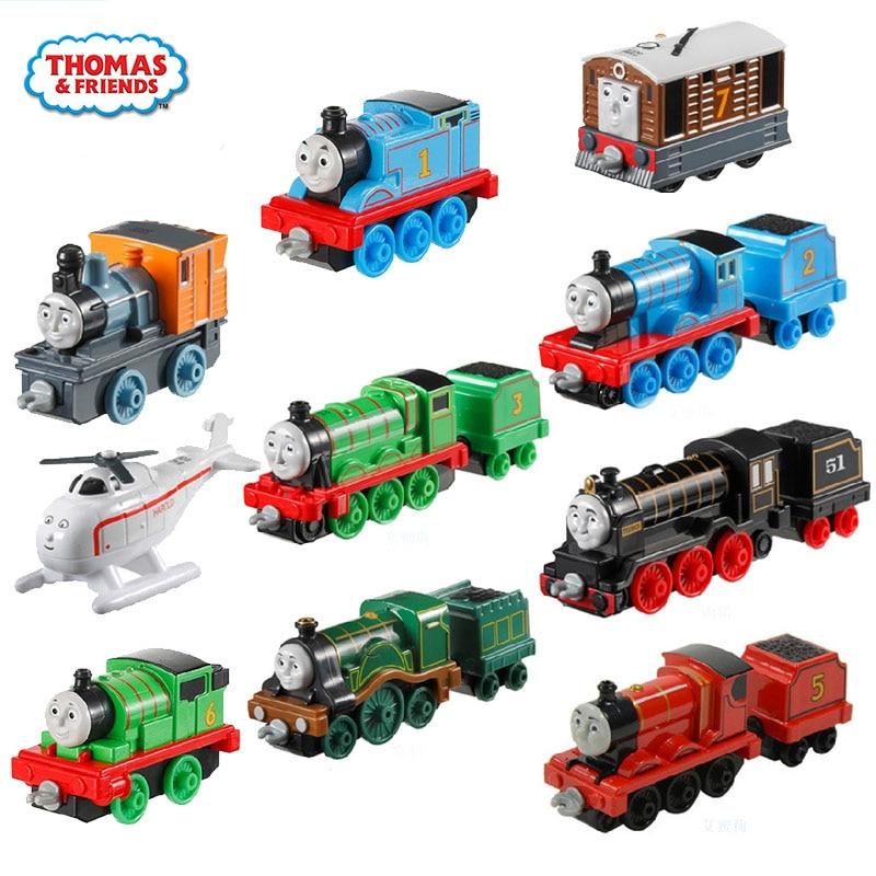 Original 1:43 Alloy Train Toy Model Car Kids Toys For Children Diecast Brinquedos Education Birthday Gift