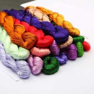 Silk Thread Embroidery Cross-Stitch Spiraea of 20m/pcs