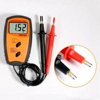 Medidor de resistencia de batería interna  voltímetro de resistencia de batería 100V  probador de batería  aviso de bajo voltaje Se26