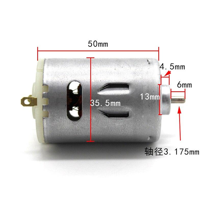 545 hight quanlity 6 v-12 v metall kugellager motor High speed große drehmoment dc motor für Modellierung werkzeug