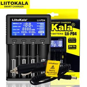 Image 5 - Liitokala Lii PD4 Lii PL4 Lii PD2 Lii S2 Lii S4 18650 зарядное устройство 3,7 V Li Ion 1,2 V NiMH 26650 21700 18350 18500 AAA LiFePO4 аккумулятор