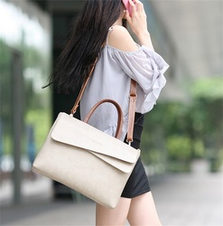 Womens briefcase female portable professional documents commuter fashion one shoulder business big bag large capacity Ladiesbag