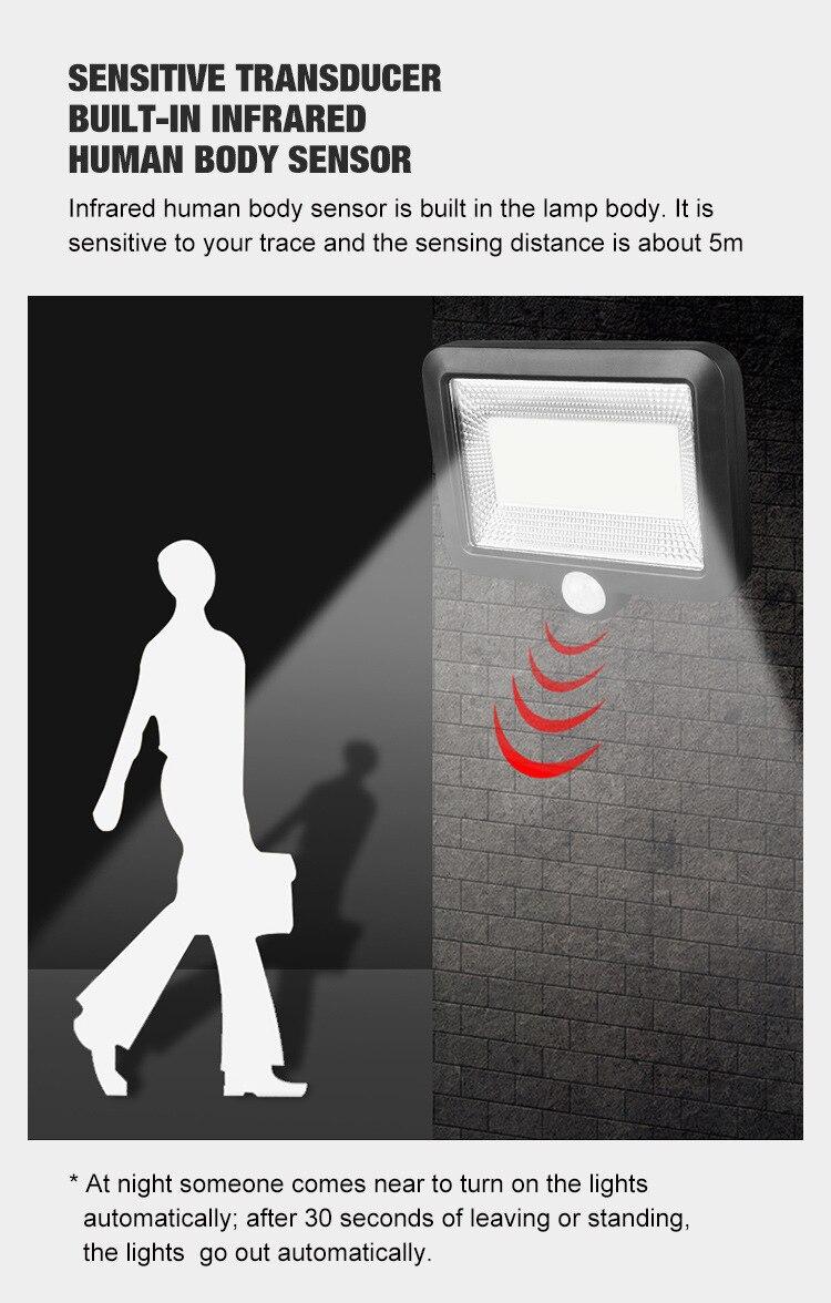 sensor de movimento lâmpadas parede ao ar