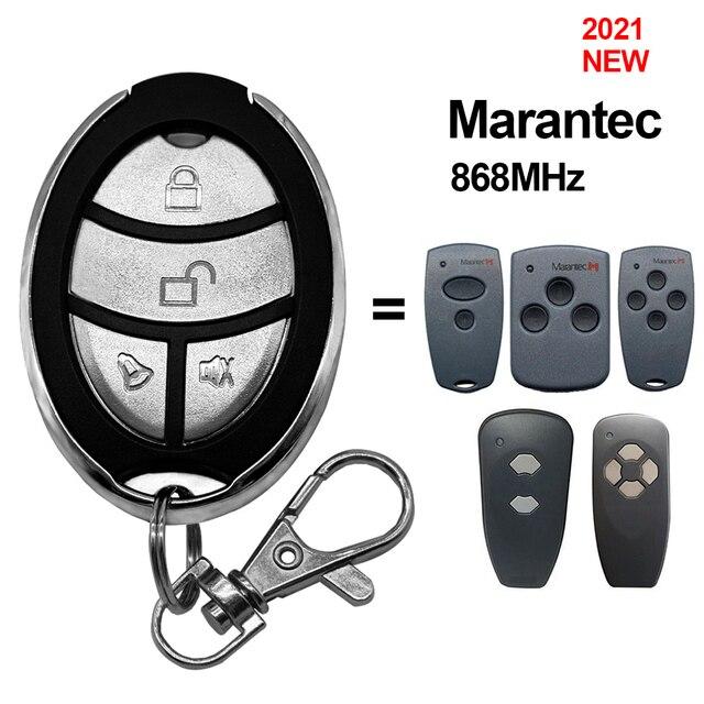 Marantec 디지털 868 MHz 차고 문 게이트 원격 제어 키 fob MARANTEC 핸드 헬드 송신기 차고 명령 컨트롤러 868.3