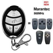 Marantec digital 868 mhz porta da garagem controle remoto chave fob marantec handheld transmissor controlador de comando garagem 868.3