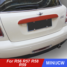 Case Trunk R59-Accessories Cooper Rear Trim Sticker for Mini R56 Moulding-Protector Door-Cover