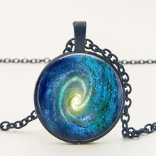 2019 New Star Vortex Necklace Tricolor Sky Series Pendant Color Colorful