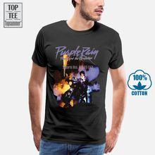 Оригинальная футболка Принц фиолетовый дождь принц и революция