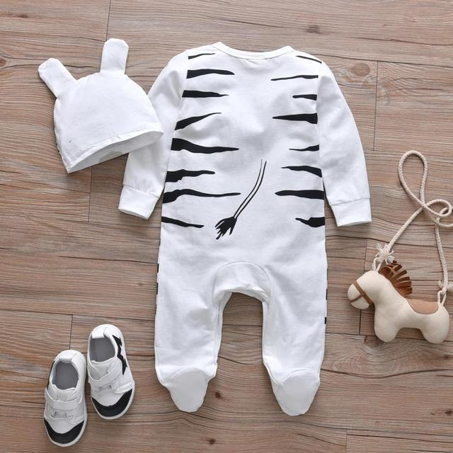 Baby's Creative Romper with Beanie 6