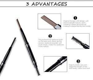 Image 3 - IMAGIC Cosmetic Set Sale 3 Get 1 Black Mascara Liquid Eyeliner 16 Colors Flash Pigment Eye Shadow Eyebrow Pencil