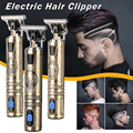 2021 электромашинка для стрижки волос, триммер для волос для Для мужчин Перезаряжаемые электробритва борода парикмахера, машинка для стрижки...
