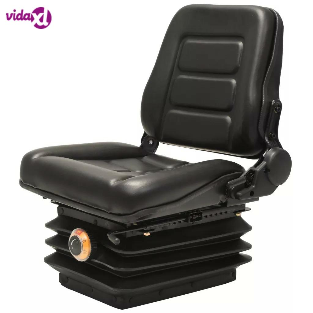 VidaXL Forklift & Tractor Seat With Suspension And Adjustable Backrest High-Quality Tractor Seat Comfortable Useful V3