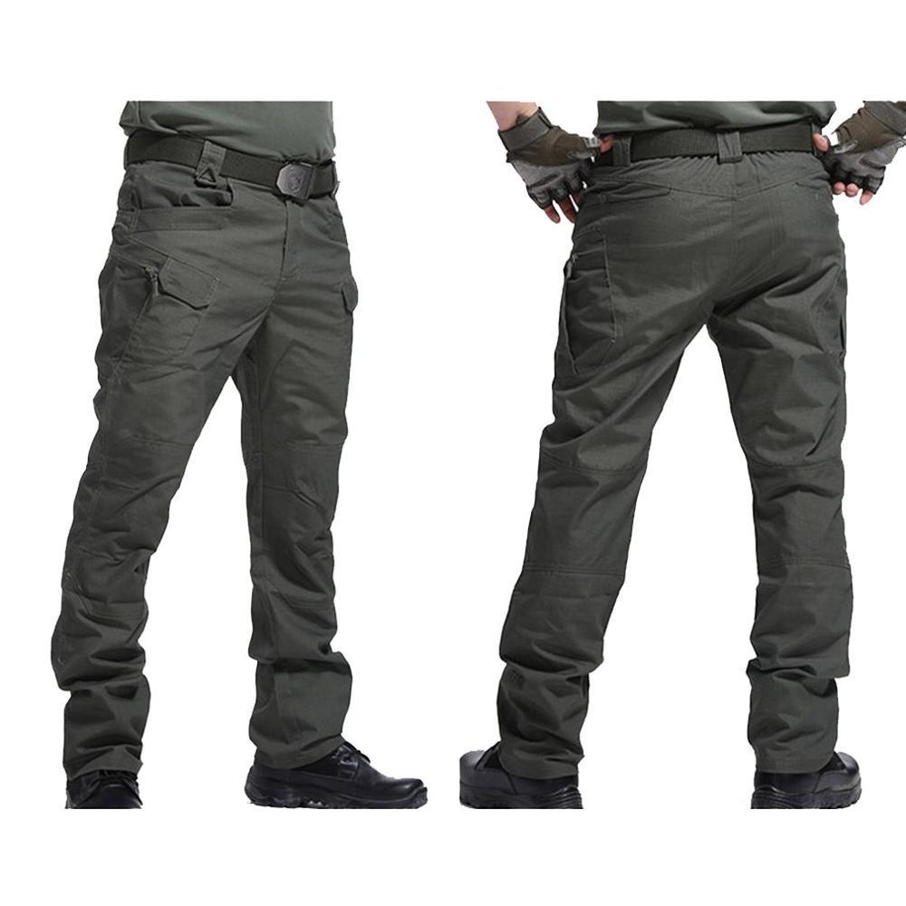 Hot IX7 IX9 City Tactical Cargo Pants Special Forces Wear Multi-pocket Tactical Pants Army Fan Overalls Men Casual Trousers