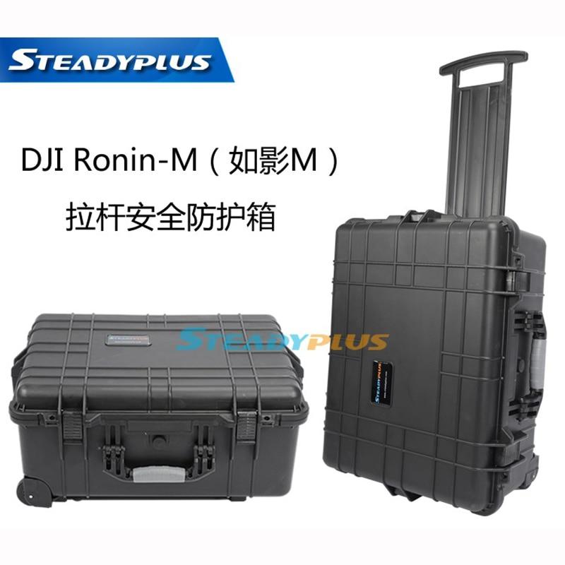 hoogwaardige waterdichte DJI ronin M-koffer beschermende doos slagvaste beschermhoes met aangepaste EVA-voering
