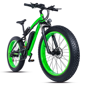 Image 5 - Electric bike 26*4.0inch Aluminum  electric Bicycle 48V17A 1000W 40KM/H 6Speed Powerful Fat Tire bike Mountain snow ebike