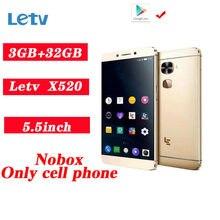 Letv – smartphone LeEco Le 2, téléphone portable, 3 go de ram, 32 go de rom, processeur Snapdragon 652 octa-core, écran 1920*1080 de 16 mpx, connectivité 4G LTE, lecteur d'empreinte digitale, PK X520