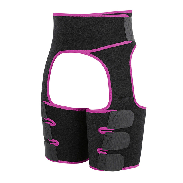Slim Thigh Trimmer Leg Shapers Slender Slimming Belt Neoprene Sweat Shapewear Toned Muscles Band Thigh Slimmer Wrap 4