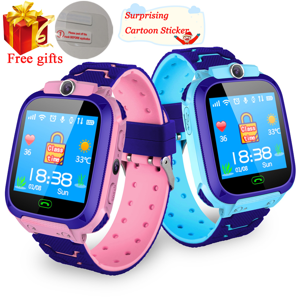 Location-Tracker Smartwatch Clock Call Sim-Card Baby Waterproof Kids Q528. SOS Q50 Q90