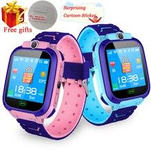 Водонепроницаемые Детские Смарт-часы SOS Antil-lost умные часы детские 2G sim-карты часы отслеживание местоположения вызова умные часы PK Q50 Q90 Q528
