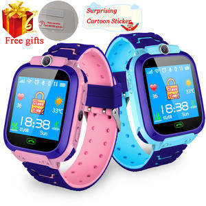 Location-Tracker Clock Smartwatch Sim-Card Call Baby Waterproof Kids Q50 Q90 Q528. SOS