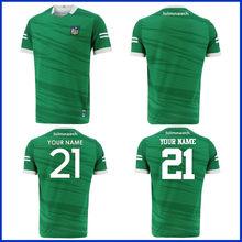 Limerick casa jérsei 2021/22 irlanda limerick formação rugby camisa tamanho S--5XL
