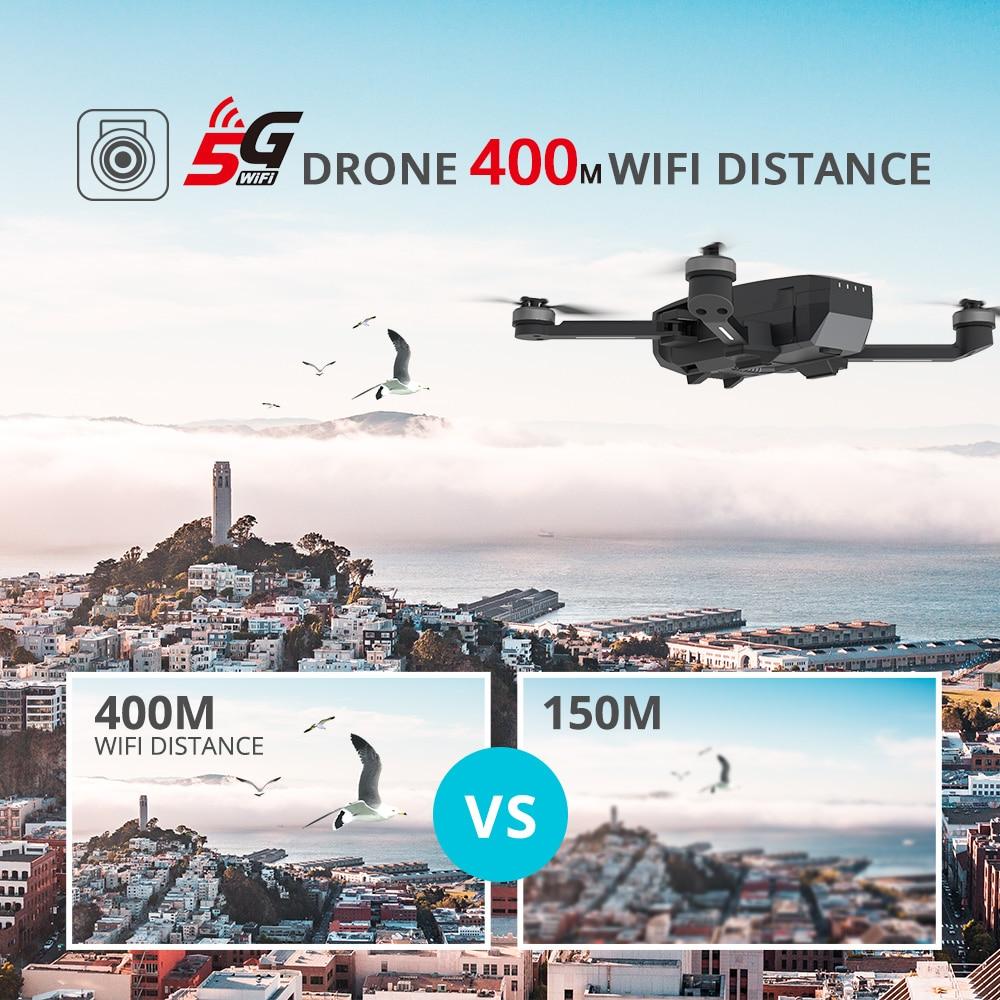 Купить с кэшбэком Holy Stone HS720 RC Drone GPS Brushless Motors 5G GPS Drone 4K Gimbal 400M Wifi FPV 26 Mins Profissional Quadcopter Quadcopter
