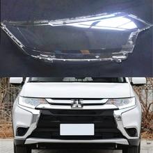 רכב פנס עדשה עבור מיצובישי הנכרי 2016 2017 2018 רכב פנס כיסוי החלפת אוטומטי מעטפת כיסוי