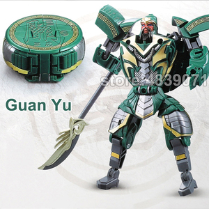 Image 4 - WJ LUBO Action Figure Toys Chess Chaft Romance of the Three Kingdoms Deformation Transformation