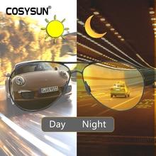 Lunettes De soleil photochromiques, toutes saisons, polarisées De Vision nocturne, Oculos, conducteur, verres De conduite