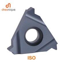 Ferramenta de torneamento da fio do iso, pitada geral da inserção 11ir 16ir 16er 0.5  3.5mm, fio interno e extenso